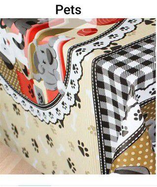 Toalha de mesa Plástica Térmica Pets 1,40x1,00