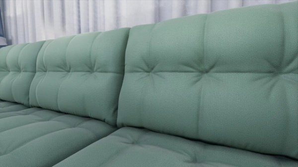 Tecido para Sofá e Estofado Veludo Inca 23 Verde Agua- Largura 1,40m - INC-23