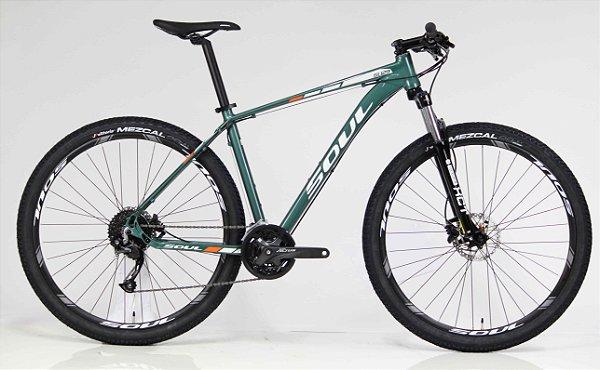 Bicicleta Aro 29 Soul Cycles SL 129 Shimano Altus 27v
