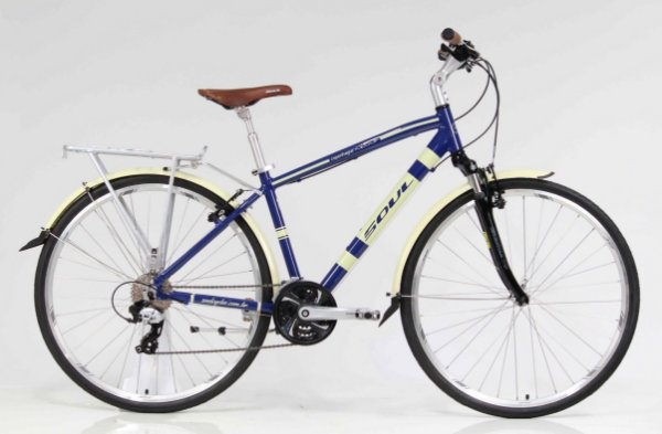 Bicicleta Aro 700 Soul Cycles Copenhague Retrô Shimano Tourney