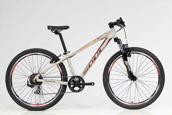 Bicicleta Aro 24 Soul Cycles SL 50 Shimano Tourney