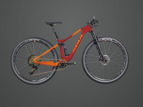 Bicicleta Soul Volcano Carbon 12V Sram XX1 Gold (CUSTOM)