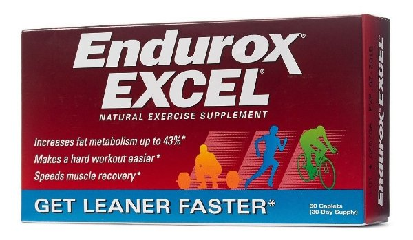Endurox EXCEL natural exercise supplement - 60 cápsulas