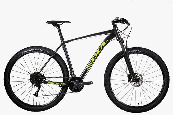 Bicicleta Soul SL229 ALTUS 27V