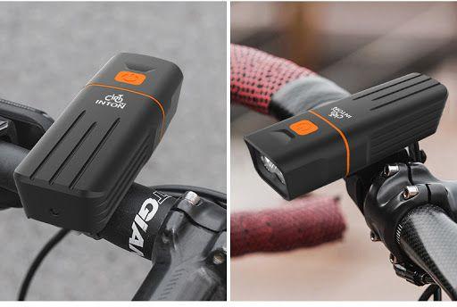 Lanterna Farol para bicicleta TK2 - 2 LEDs CREE XML-T6