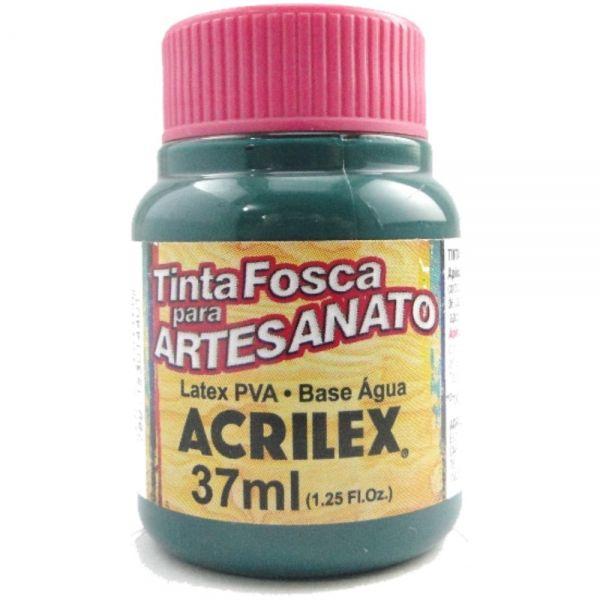 Tinta Fosca P/ Artesanato 37ml Verde Bandeira - Acrilex