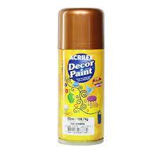 Tinta Em Spray Decor Paint Cobre - Acrilex