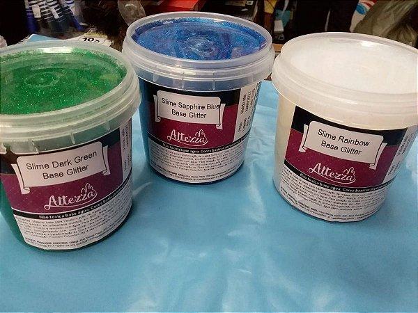Slime Sapphire Blue Base Glitter 400G EAN