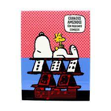 Quadro Metal Retro Snoopy