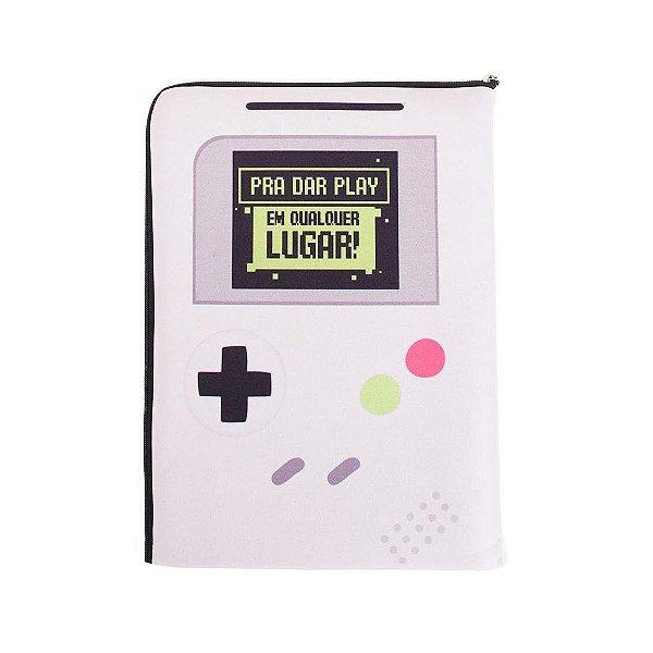 Capa De Notebook - Game Geek