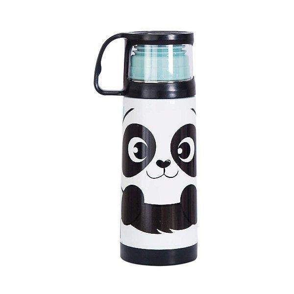 Squeeze Termica Com Caneca 350 ml - Panda