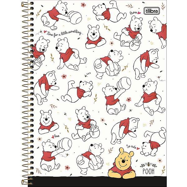 Caderno Universitário Pooh 10M - Tilibra