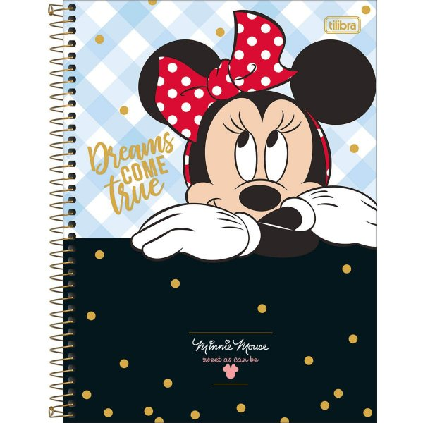 Caderno Universitário Minnie 10M - Tilibra