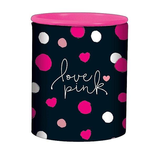 Apontador 2 Furos Love Pink - Tilibra