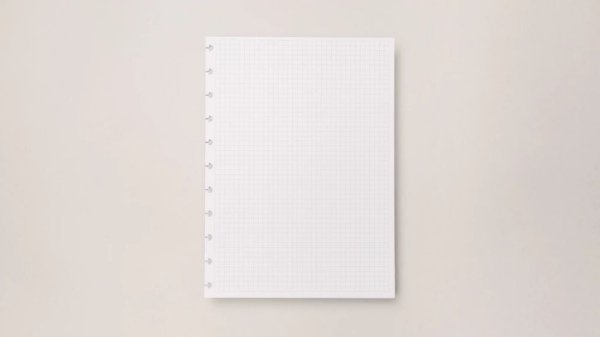 Refil Caderno Inteligente Quadriculado Grande - Caderno inteligente
