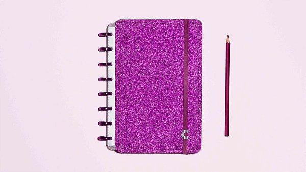 Caderno Inteligente Glitter Pink - A5