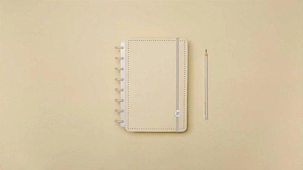 Caderno inteligente Amarelo Pastel - A5