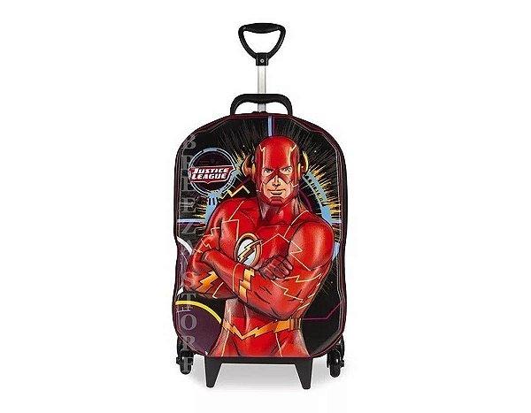 Mochila Liga da Justiça The Flash - Maxtoy