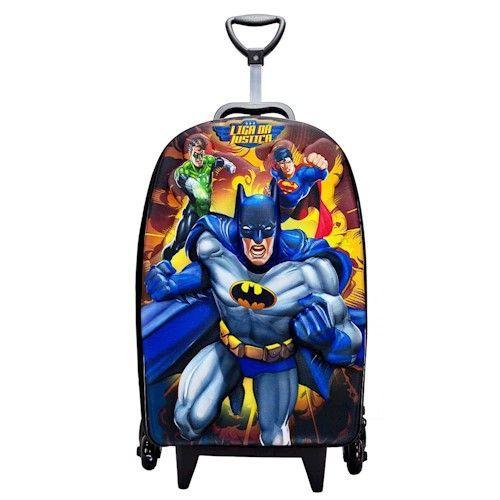 Mochila Liga da Justiça Batman - Maxtoy