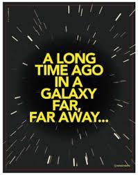Quadro metal star wars galaxia - zona criativa