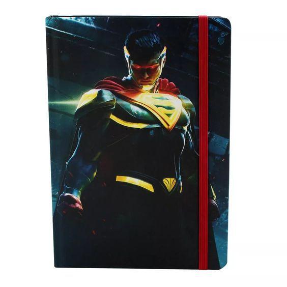 Caderno de Anotações Super man - Zona Criativa