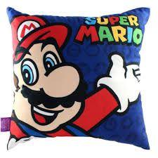 Almofada Veludo Mario e Luigi - Zona Criativa