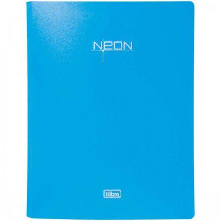 Fichário Neon Azul - Tilibra