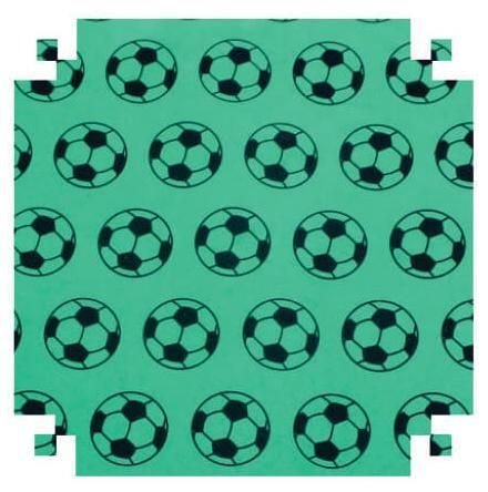 Eva Fantasia Diversos 2cores 2mm 40x60  Futebol