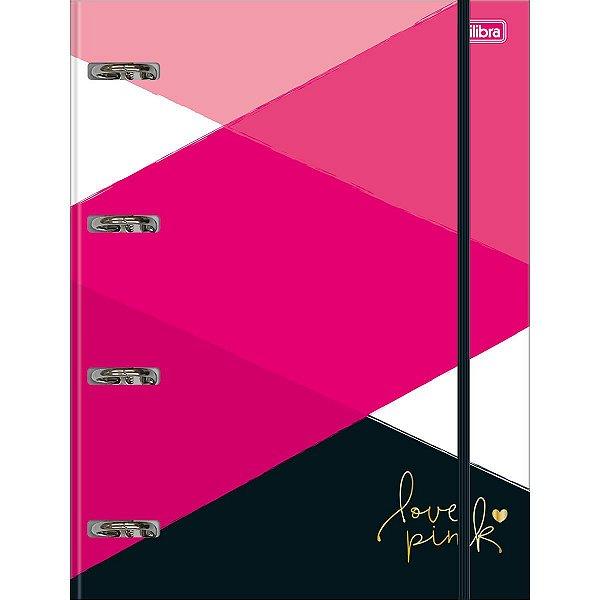 Caderno Argolado Love Pink - Tilibra