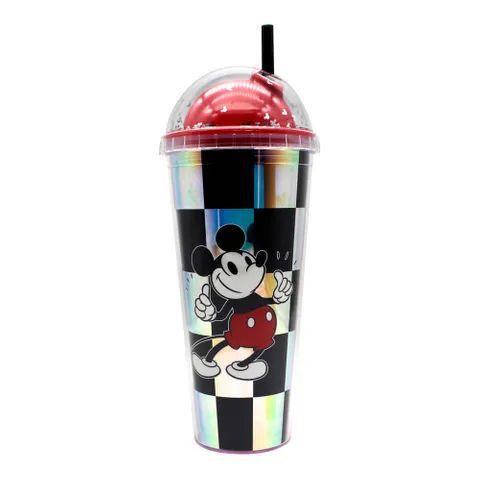 Copo Holográfico Xadrez Mickey - Zona Criativa