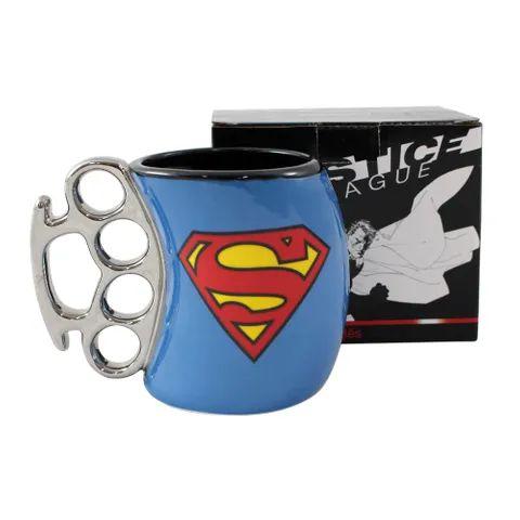 Caneca Soco Inglês Superman 350ML - Zona Criativa