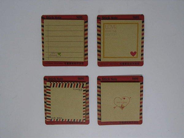 Bloco Papel Anotação  50Fls - Sticky Note