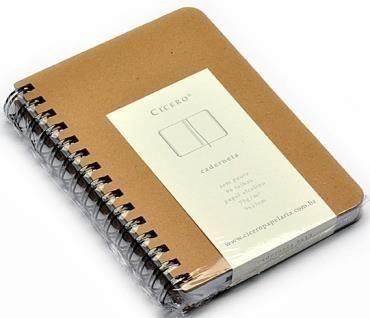 Caderneta Kraft S/ Pauta 14x21 - Cicero