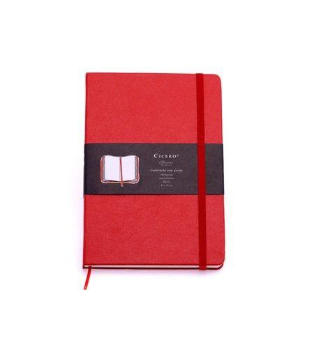 Caderneta Pautada Vermelha - Cicero