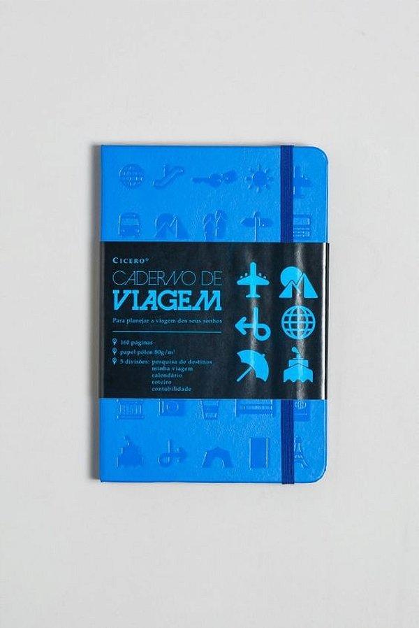 Caderno de Viagens Azul - Cicero