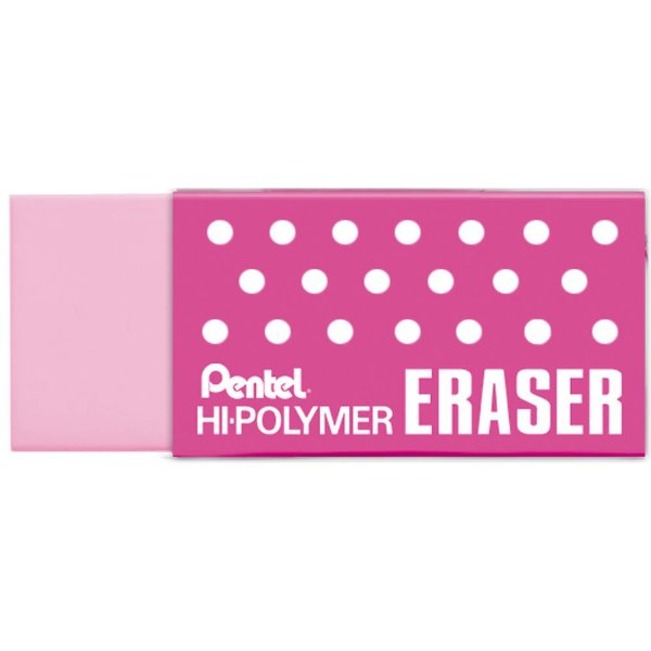 Borracha Hi-Polymer Rosa - Pentel