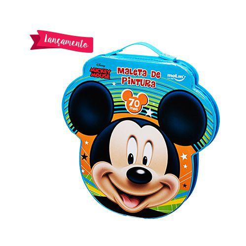 Maleta Face Mickey 70 Itens - Molin