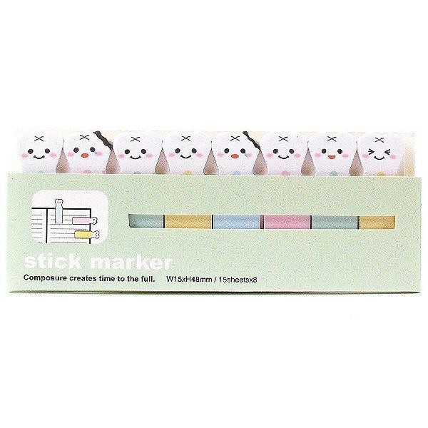 Bloco Adesivos várias estampas - Stick Marker