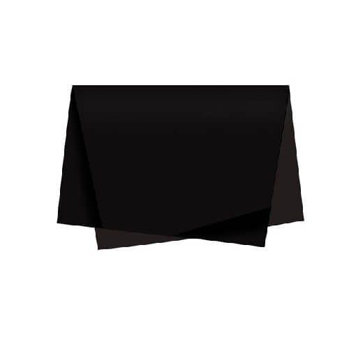 Papel Seda Preto 48x60cm - Vmp