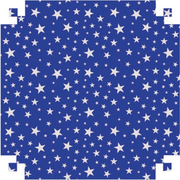 Colorset  Estrelas/Azul 48X66 - Vmp
