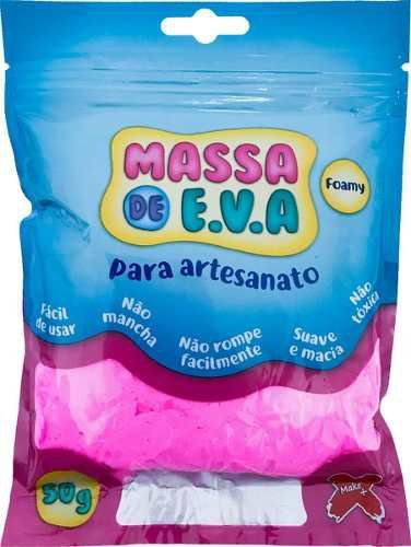 Massa De Eva Rosa 50g - Make+