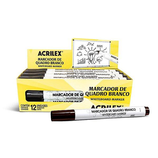 Marcador De Quadro Branco Azul - ACRILEX