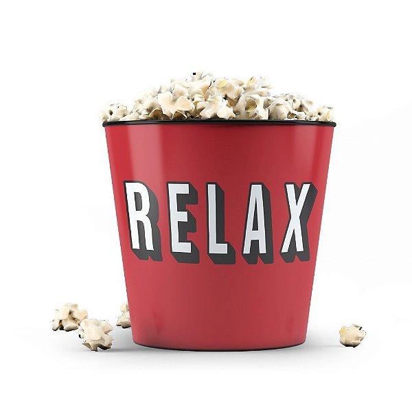 Balde de Pipoca Relax - Beek