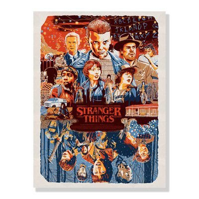 Quadro Decorativo Stranger Things - Beek
