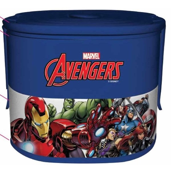 Lunch Box Dupla Avengers - Zona Criativa