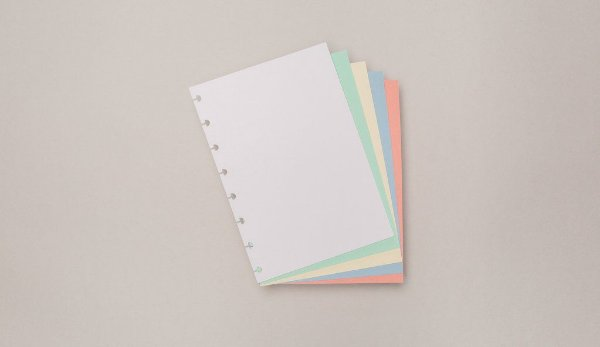 Refil Colorido - A5 - Caderno Inteligente