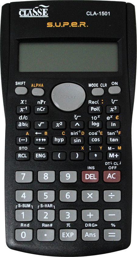 Calculadora Cientifica 240fun Classe
