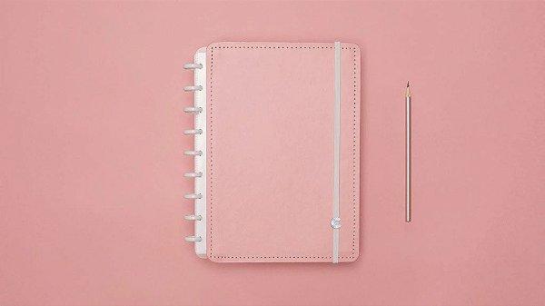Caderno Rose Pastel - Grande - Caderno inteligente
