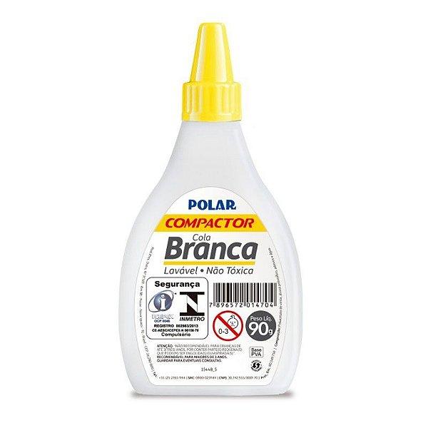 Cola Branca Escolar Polar 90g  - Compactor