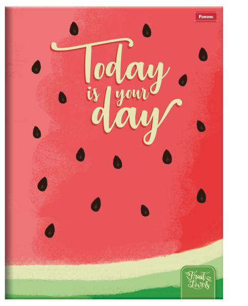 Caderno Brochurão Fruit Lovers 96 Fls - FORONI